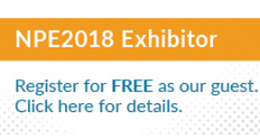 SHINE WELL will be exhibiting at NPE2018