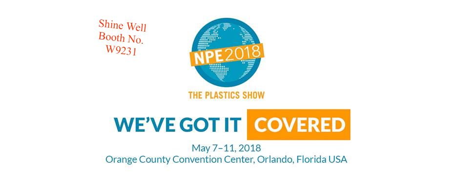 We cordially invite you to visit our booth at NPE 2018